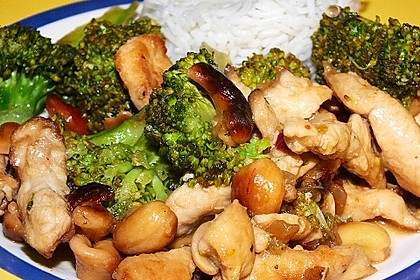 Hähnchenbrust nach Szechuan-Art mit Brokkoli 11