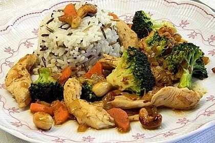 Hähnchenbrust nach Szechuan-Art mit Brokkoli 14