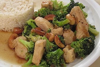Hähnchenbrust nach Szechuan-Art mit Brokkoli 9