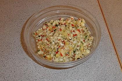 Fischfilet mit Ananas - Salsa 1