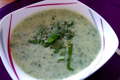 Bärlauch-Kartoffel-Suppe 1