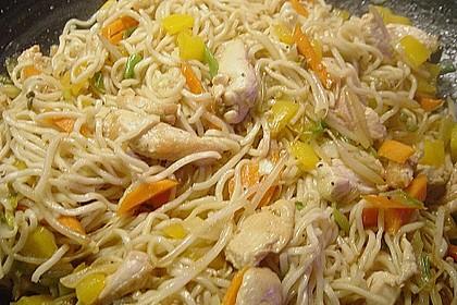 Huhn und Gemüse aus dem Wok 6