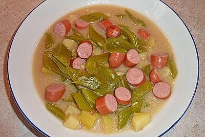 Rheinische Bohnensuppe 5