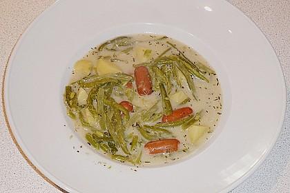 Rheinische Bohnensuppe 3