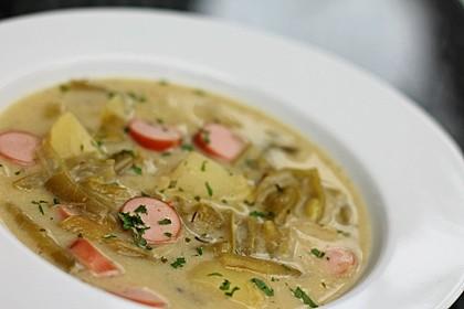 Rheinische Bohnensuppe 2