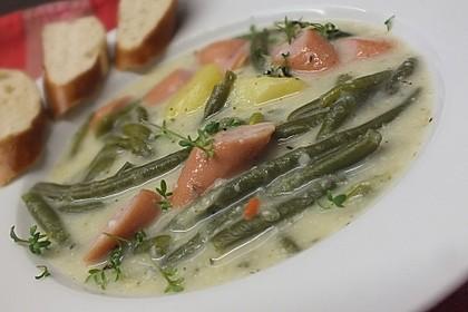 Rheinische Bohnensuppe 1