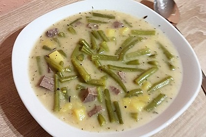 Rheinische Bohnensuppe 7