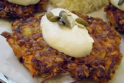 Sellerie - Karotten - Bratlinge 1