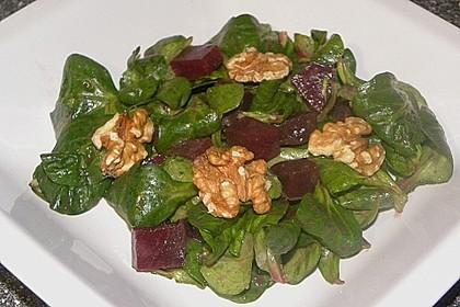 Feldsalat mit Roter Bete 8