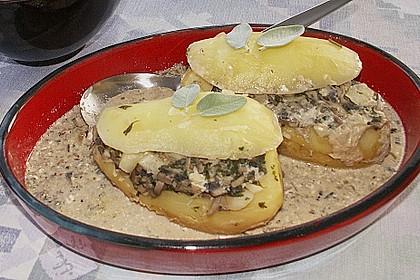 Gefüllte Kartoffeln 2