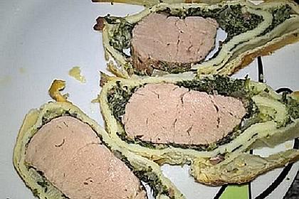 Schweinefilet im Blätterteig 0