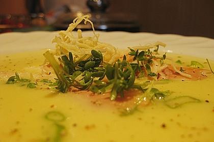 Kartoffel - Meerrettich - Suppe 1