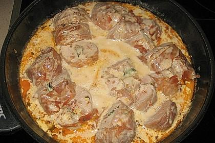 Gefüllte Schweinefilets mit Parmaschinken 17