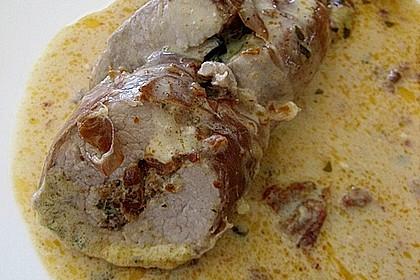 Gefüllte Schweinefilets mit Parmaschinken 34