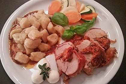 Gefüllte Schweinefilets mit Parmaschinken 28
