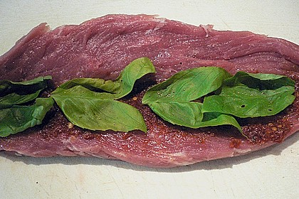 Gefüllte Schweinefilets mit Parmaschinken 58