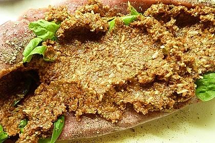 Gefüllte Schweinefilets mit Parmaschinken 68