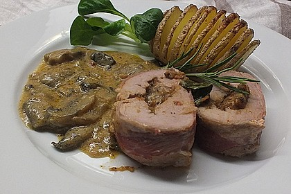 Gefüllte Schweinefilets mit Parmaschinken 1
