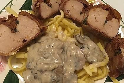Gefüllte Schweinefilets mit Parmaschinken 54