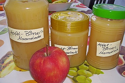 Apfel - Birnen - Marmelade 0