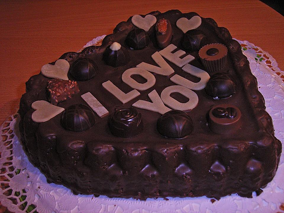Mokka   Herz Torte 3