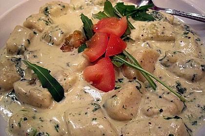 Gnocchi mit Spinat - Gorgonzolasoße 0