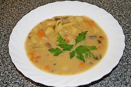 Böhmische Kartoffelsuppe 2