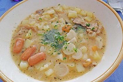 Böhmische Kartoffelsuppe 1