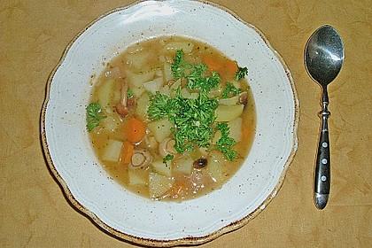 Böhmische Kartoffelsuppe 4