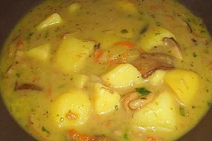Böhmische Kartoffelsuppe 5