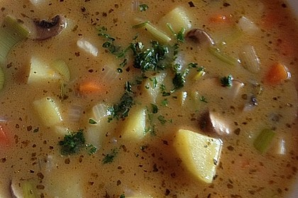 Böhmische Kartoffelsuppe