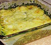Pastinaken - Spinat - Gratin (Bild)