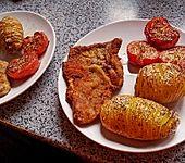 Panierte Kalbsschnitzel (Bild)