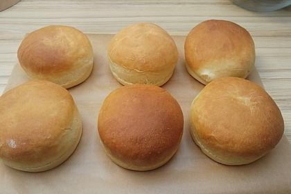 Brötchen für Hamburger 55