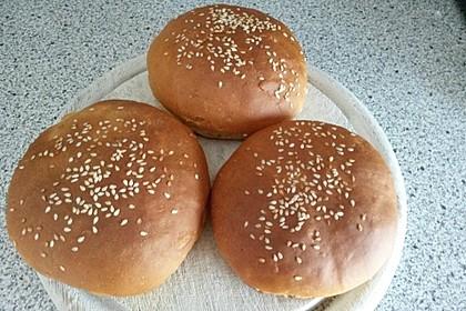 Brötchen für Hamburger 30