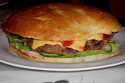 Brötchen für Hamburger 120