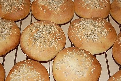 Brötchen für Hamburger 48