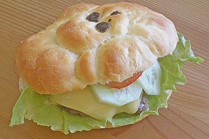 Brötchen für Hamburger 180