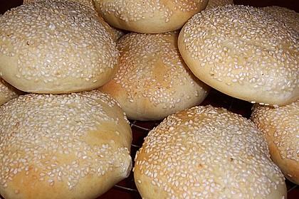 Brötchen für Hamburger 19