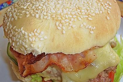 Brötchen für Hamburger 40