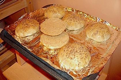 Brötchen für Hamburger 175