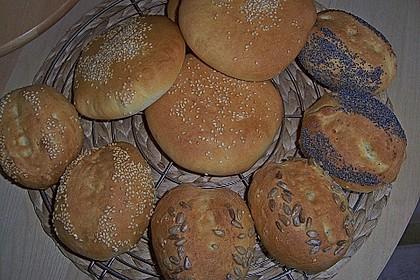 Brötchen für Hamburger 153