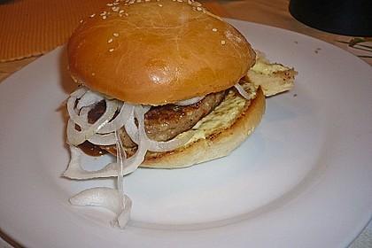 Brötchen für Hamburger 128