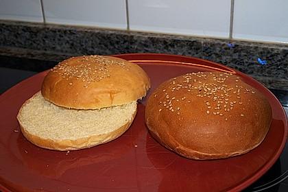 Brötchen für Hamburger 56