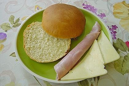 Brötchen für Hamburger 91