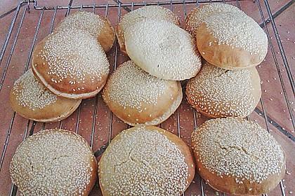 Brötchen für Hamburger 66