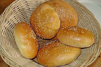 Brötchen für Hamburger 14