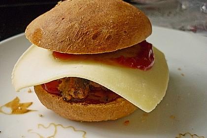 Brötchen für Hamburger 57