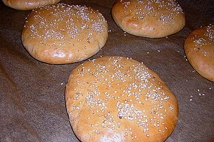 Brötchen für Hamburger 125