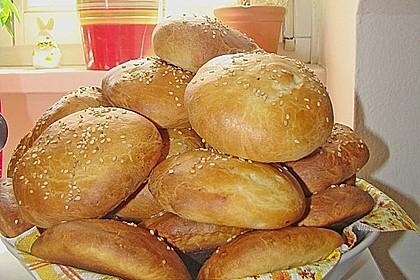 Brötchen für Hamburger 110